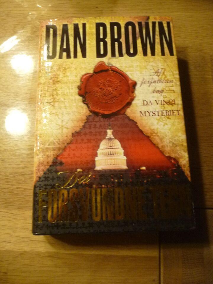 Det Forsvundne Tegn, Dan Brown, genre: roman