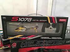 Yellow Syma S107 S107G 3.5CH Alloy Mini Remote Control RC Helicopter