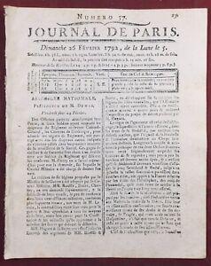 Club-des-Jacobins-1792-Andre-Chenier-Noyon-Avignon-Journal-Revolution-Francaise