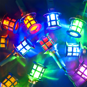 7.9m 26ft Chain of 80 Multicolour Indoor /& Outdoor Palace LED Christmas Lights