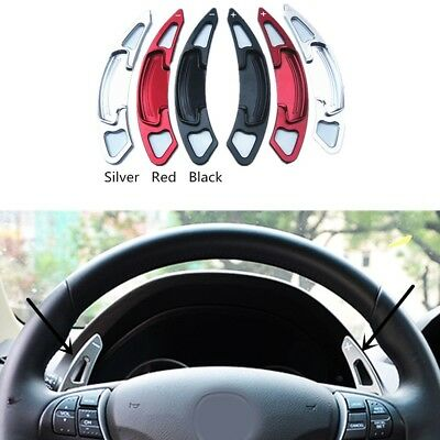 MIOAHD 2pcs Aluminum Car Steering Wheel Shift Paddle Shifter Extension,for Acura TLX 2015-2017