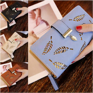 Fashion-Women-Lady-Leather-Wallet-Long-Card-Holder-Coin-Clutch-Purse-Handbag-Bag