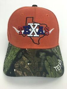 069b50b96e9 Image is loading Texas-State-Strap-Back-Hat-One-Cap-Brand-