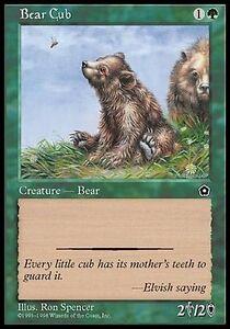 Cucciolo-d-039-Orso-Bear-Cub-MTG-MAGIC-PO2-Portal-Second-Age-Eng-Ita