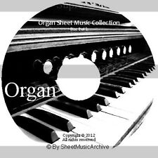 Massive Professional Organ Sheet Music Collection Archive Library on DVD