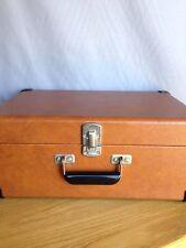 CROSLEY CR49-TA Tan Traveler Portable Record Turntable Built in Speakers phono