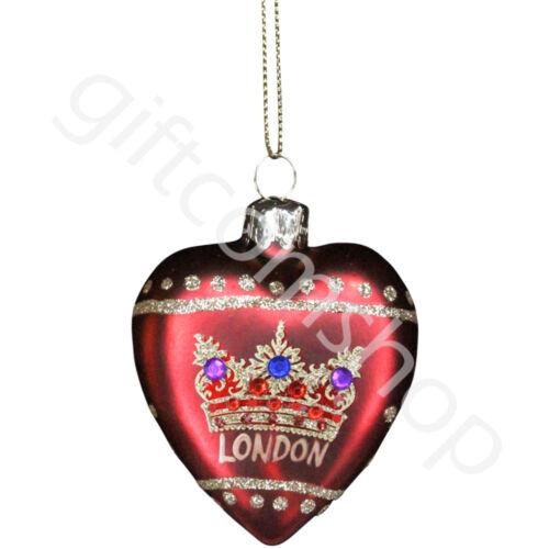 Gisela Graham Christmas Ornaments London England Big Ben Hanging Decorations