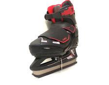 Oxelo Fit 3  Ice Skate Schwarz/Rot verstellbar 29-32 Kinder Schlittschuh- Sale