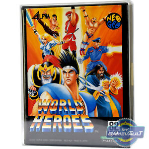 5-x-Game-Box-Protectors-for-Neo-Geo-AES-STRONGEST-0-5mm-Plastic-Display-Case