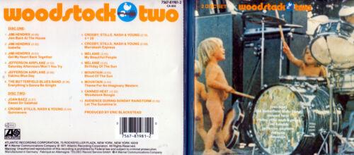 1 von 1 - Woodstock 2 - 1969 (1971) - DCD - Various Artists - CD´s von 1994 - Neuwertig !