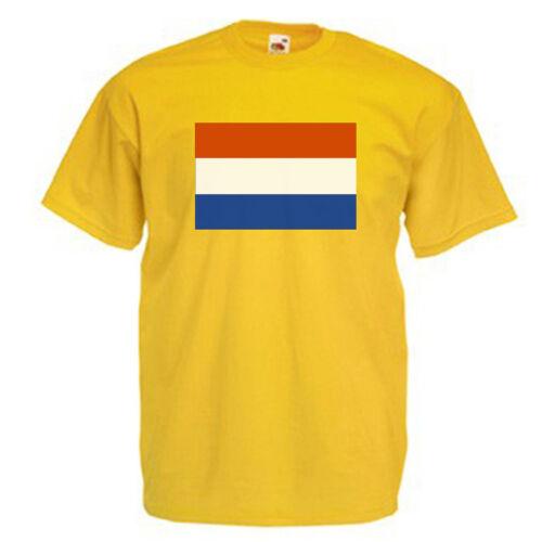 Holland Dutch Flag Children/'s Kids Childs T Shirt