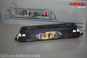 Marklin-3751-digital-elok-serie-460-034-carbon-palas-034-SBB-Spur-h0-OVP