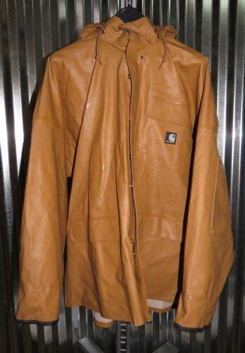 Carhartt 100100-300 Surrey PVC Rain Coat Large Reg