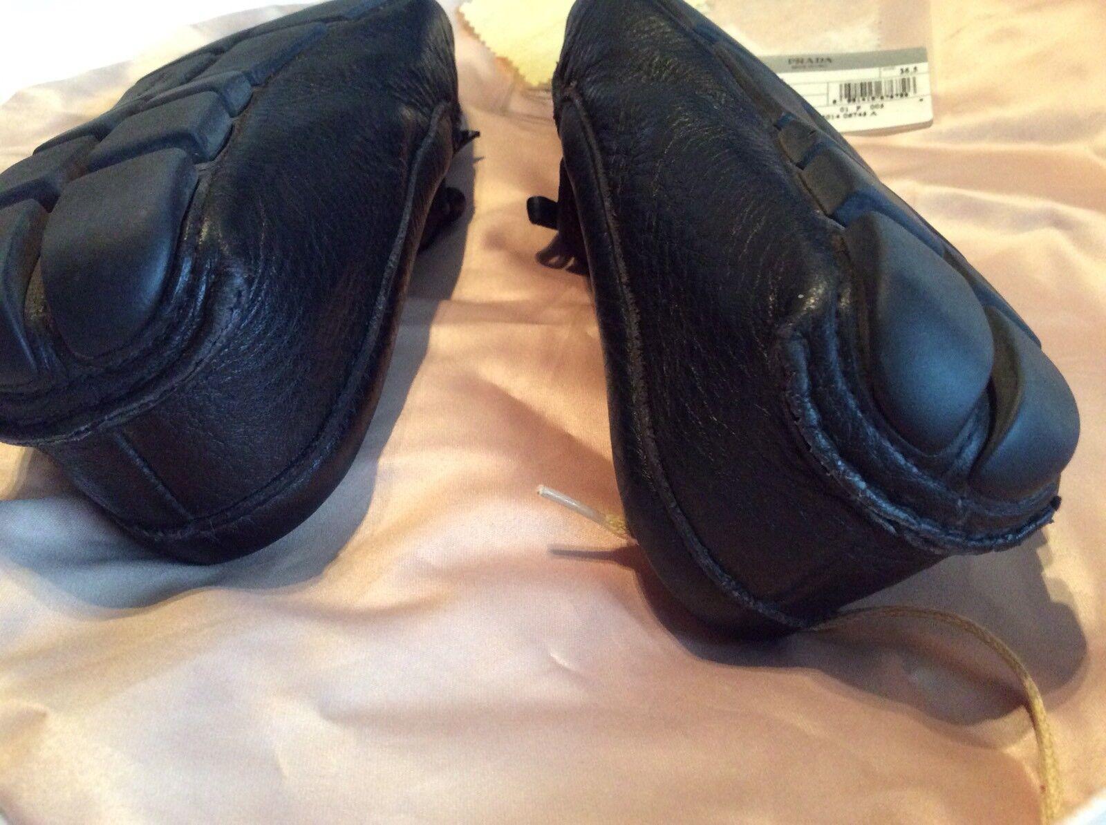Prada Driving shoes - Black - Size Size Size 36.5  PRADA UK SIZE 3.5 Driving shoes 9e4767