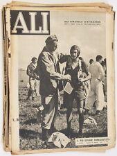 ALI SETTIMANALE AVIAZIONE 1952 CIAMPINO RIETI CROCEROSSA LINATE DOLOMITI BRESSO
