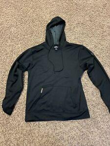 Rawlings Baseball/Softball Fleece Hoodie Adult PFH - Size S - Black