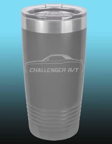 2008-14 Dodge Challenger RT 20oz 30oz Stainless Steel Tumbler