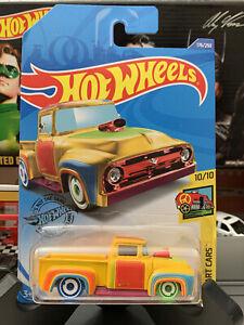 2020 HOT WHEELS THUNT CUSTOM '56 FORD TRUCK K CASE TREASURE HUNT ART CARS #176