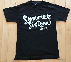 f0547bfdbdd Image is loading Drake-Summer-Sixteen-Tour-Tee-AUTHENTIC