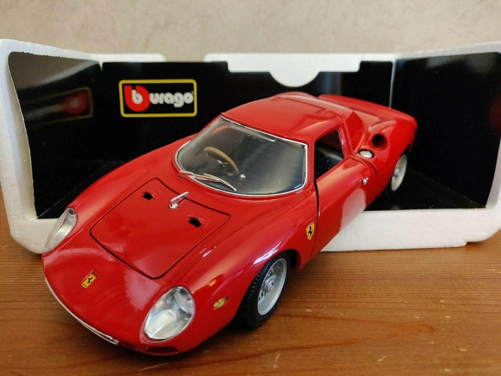 1 18 Ferrari 250 LM 1965 - Bburago - MODIFIED - with orignal diamond series box