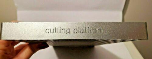 QuicKutz Epic Six Dark and LIght Gray Die-Cutting /& Embossing Platforms
