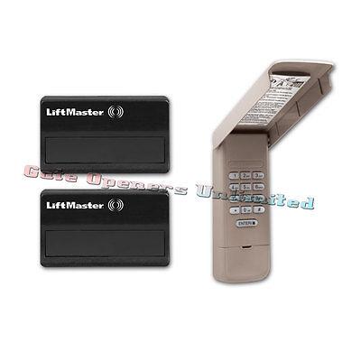 How To Replace Battery In Liftmaster Garage Door Opener ...