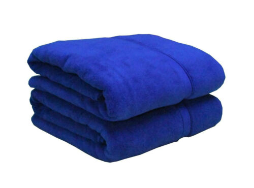 Hotel Quality Extra Thick Royal Blue Bath Towel 650gsm 100/% Cotton Double Yarn