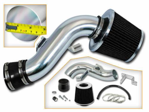 Short Ram Air Intake Kit BLACK Filter for 03-08 Matrix XR XRS 1.8L