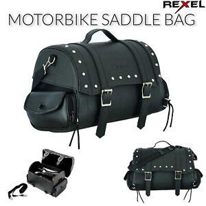 Nuevo-Moto-Motocicleta-De-Cuero-Silla-bolsa-de-maletas-impermeabilizada-para-ciclistas-de-Reino