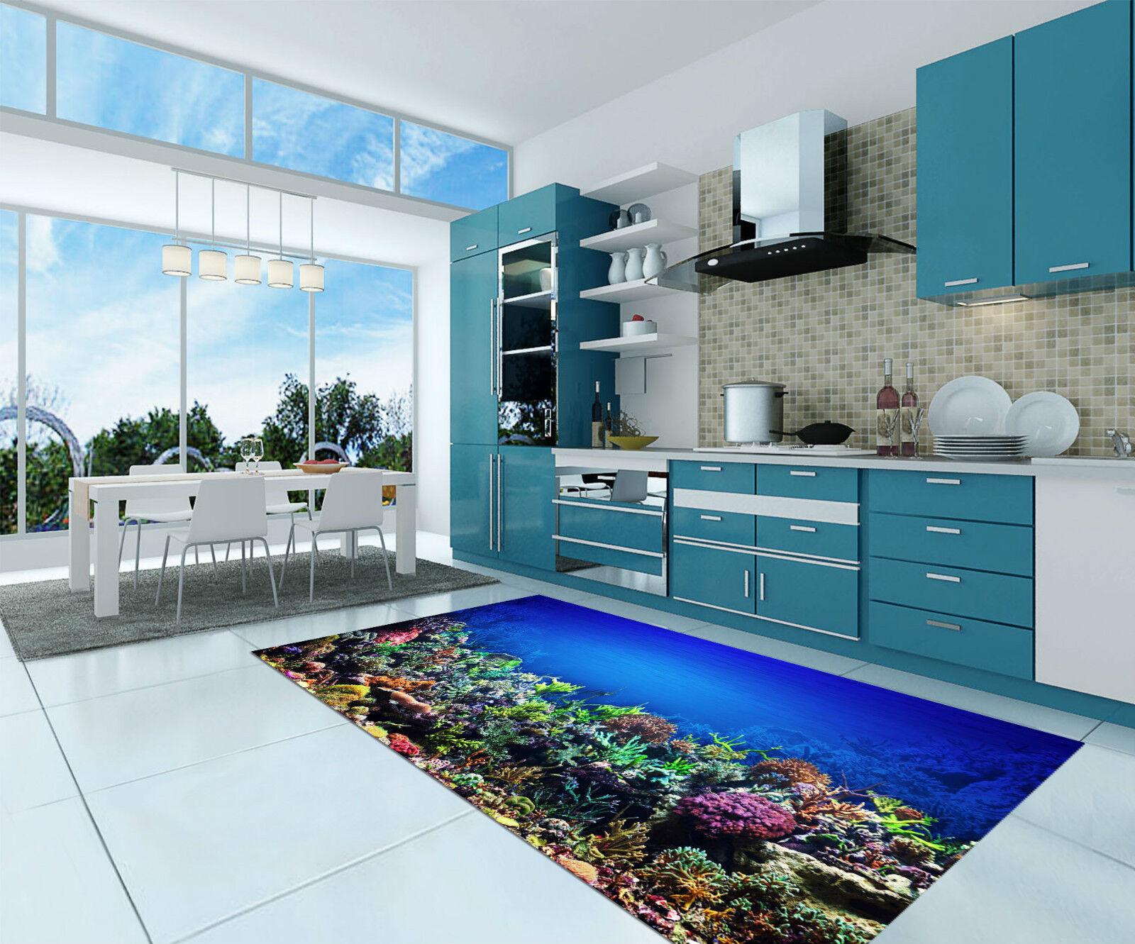 3D Sea Corals 073 Kitchen Mat Floor Murals Wall Print Wall Deco AJ WALLPAPER CA