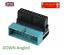 miniatura 1 - Intestazione 20pin USB 3.0 Maschio a Estensione Adattatore Up Donna Verso Il Basso Angolato 90 gradi