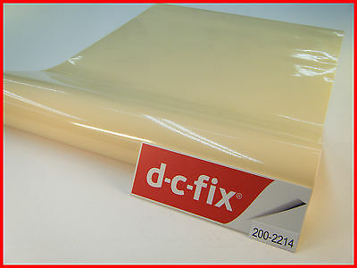 DC FIX Colour Gloss Sticky Back Plastic Self Adhesive Vinyl Contact Paper
