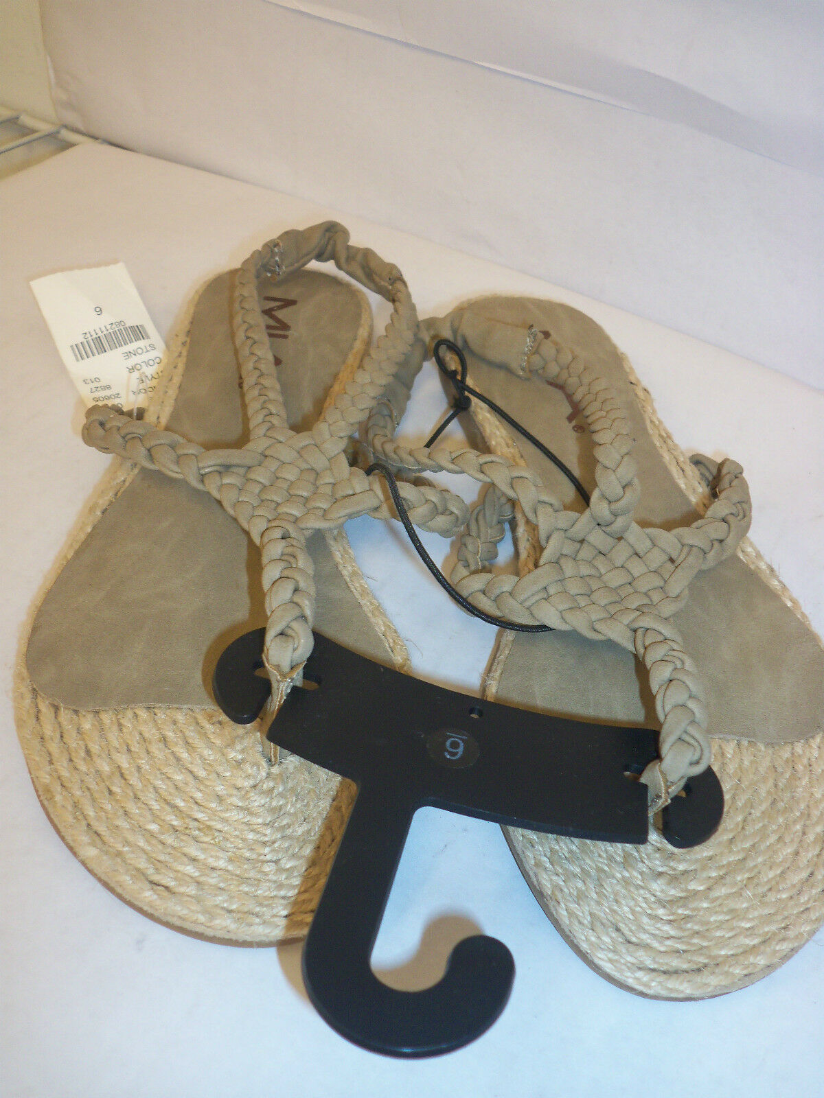 Pacsun MIA New Womens Plaka Stone Slingback Sandals 6 M Plaka Womens Shoes 896184