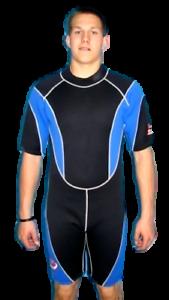 Men's Shorty Wetsuit 3MM XL Model 9804