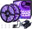 Light Strip Kit 40ft LED 12V Flexible Blacklight Fixtures 12m Ribbon Decoration