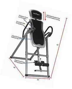 Inversion tables for back pain table body power stretching for 1201 back therapy inversion table