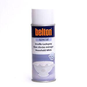 Emaille Lackspray weiß 400ml Belton Special Spray K323465