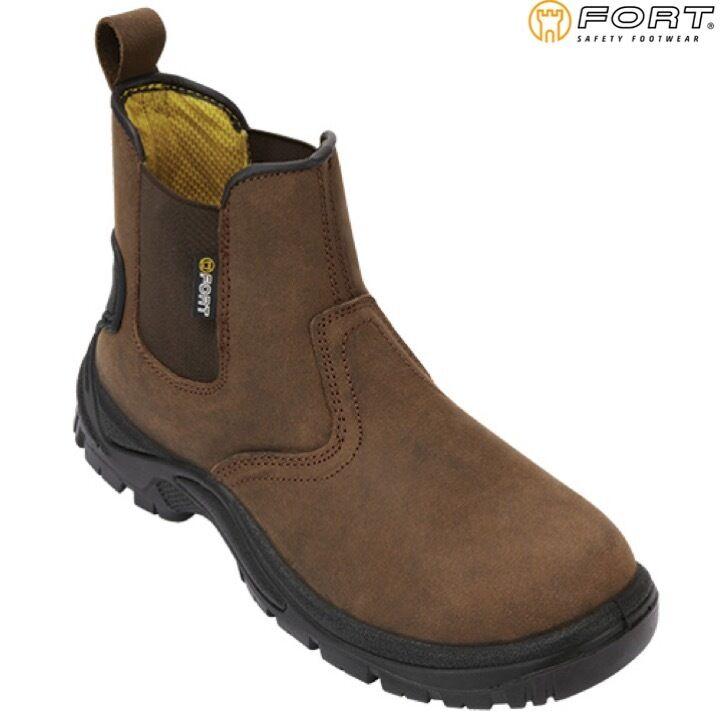 FORT REGENT Stivali Di Sicurezza Da Uomo Boot Marrone Calzature Acciaio Puntale Boot Uomo Workwear fe459d