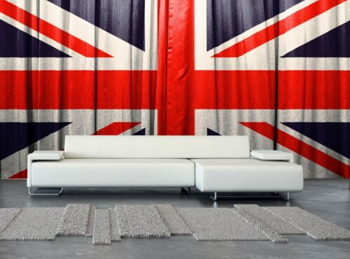 British Flag Wall Mural Photo Wallpaper GIANT WALL DECOR Paper Poster Free Paste