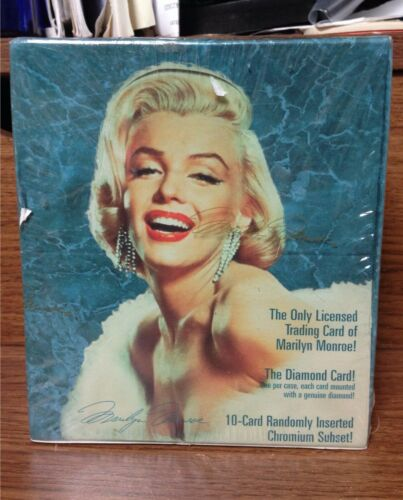 1993 Marilyn Monroe Trading Cards Sealed Waxbox By Sports Time Card Company Inc.