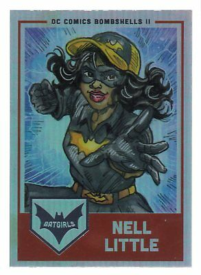 DC Comics Bombshells 2 Batgirls Chase Card G8 Bette Kane