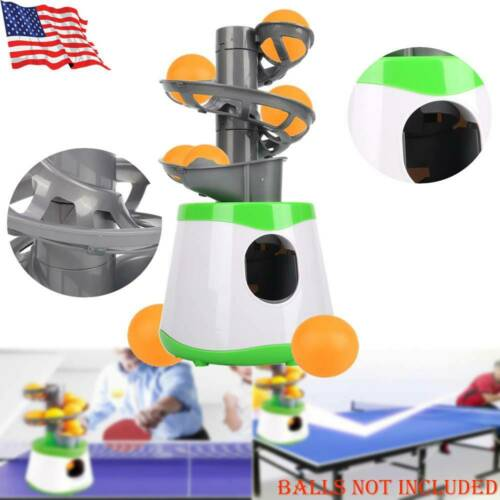 Ping Pong Ball Machine Table Tennis Robot Pitching Serve Machine Trainer Gift