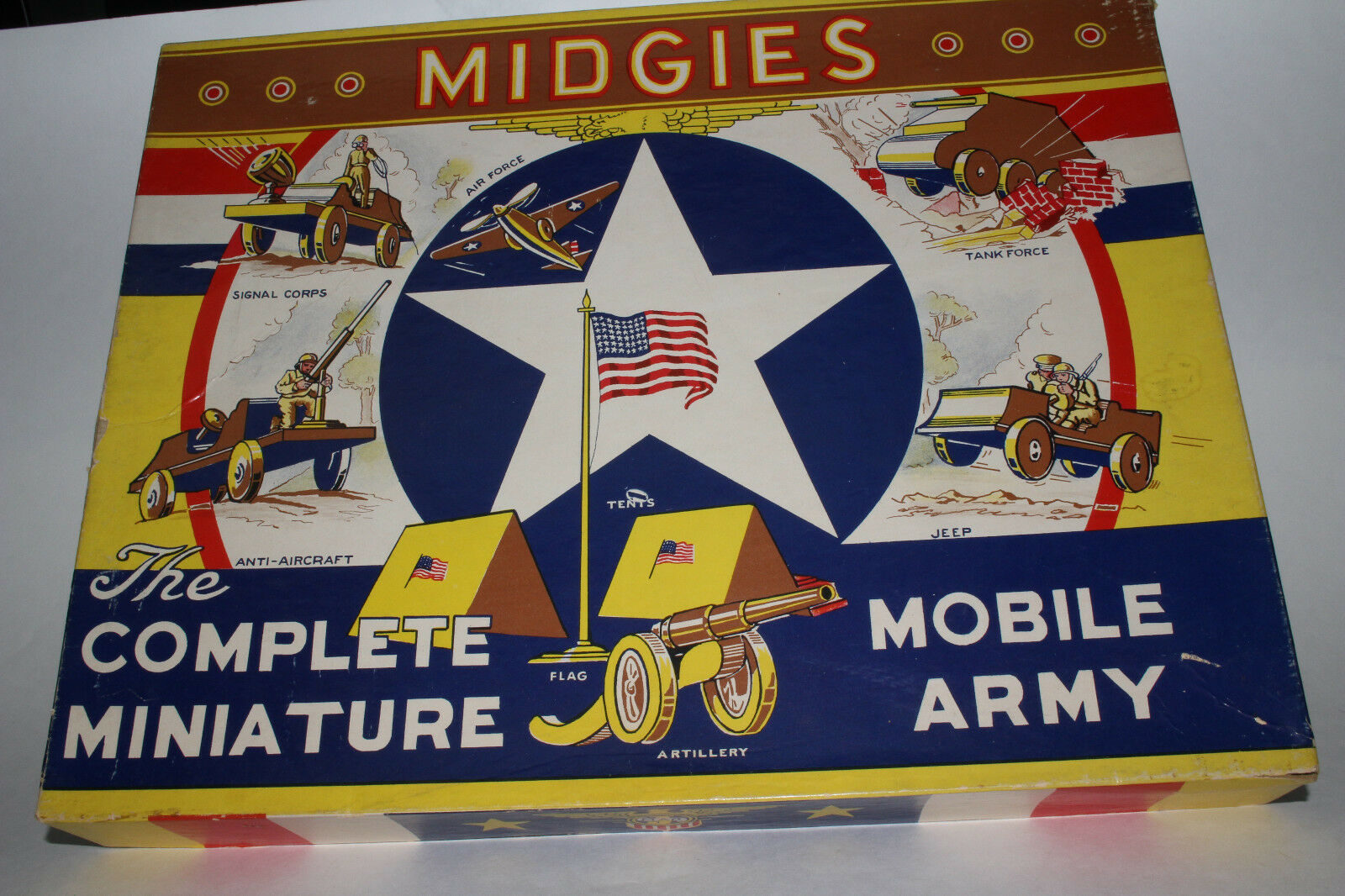 Midgies   The Complete Miniature Mobile Army  Jaymar Specialty Co. Lot  2