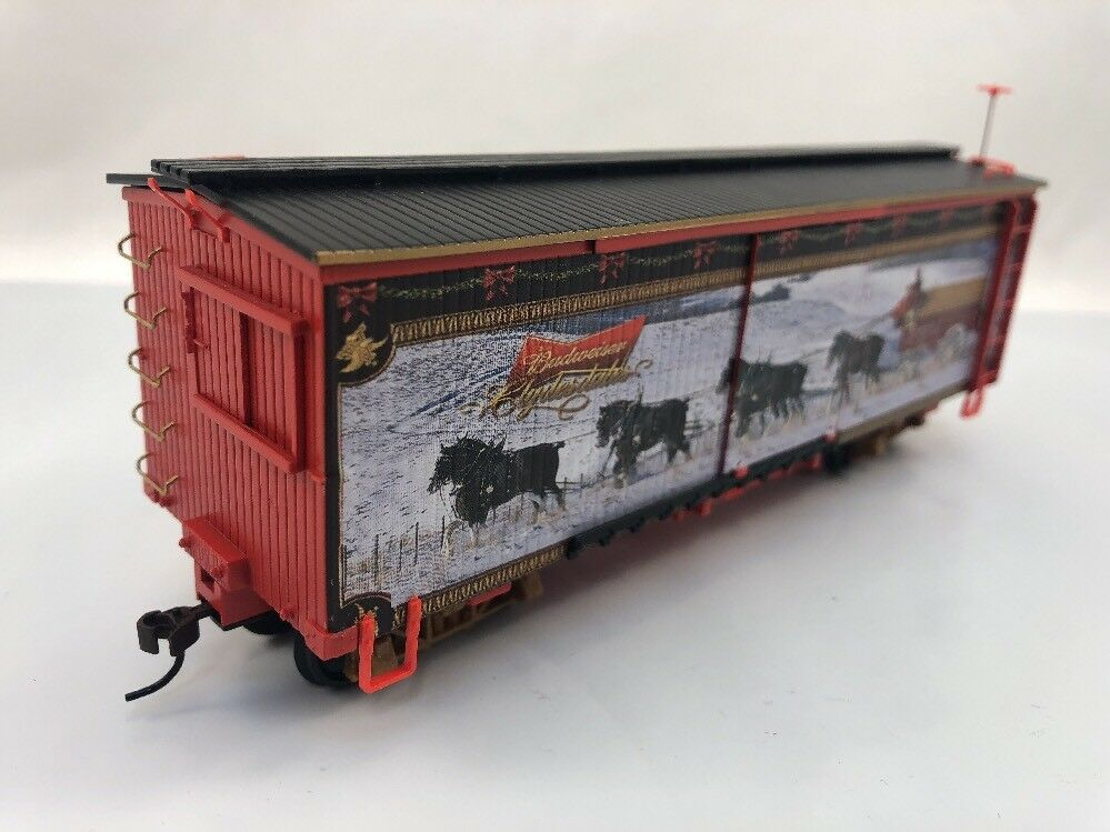 Budweiser Holiday Express Train (Box cargo) Clydesdale's