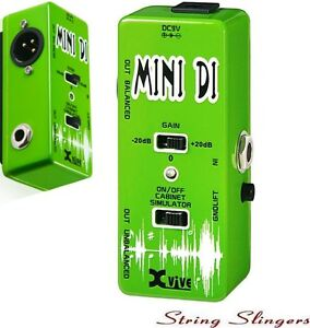 Xvive-V13-Mini-039-Mini-DI-039-Effects-Pedal-XV13