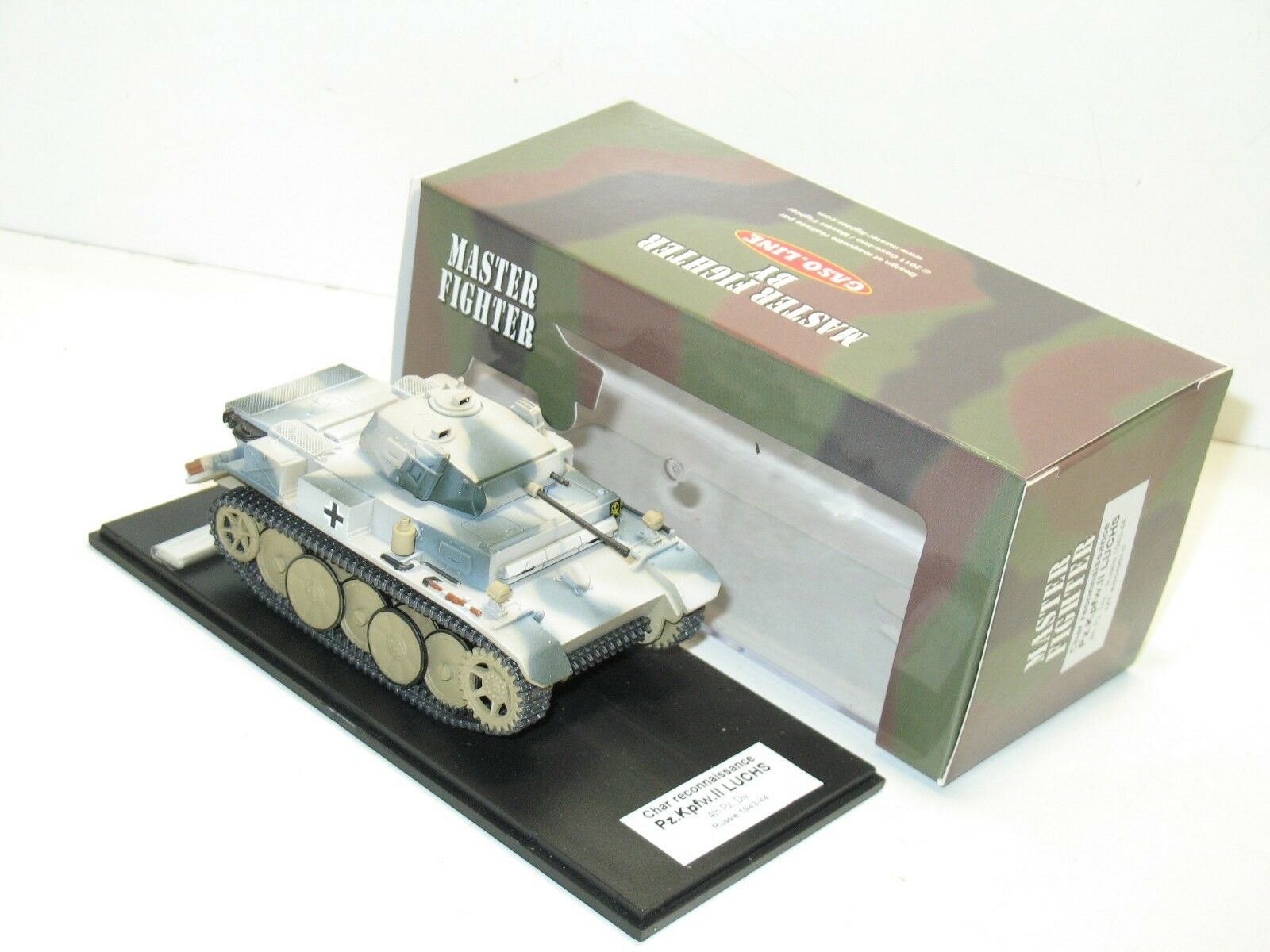 1 48 gaso line military german tank pak luchs military master fighter