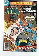 THE BRAVE AND THE BOLD # 159 / V.FINE / DC 1980 / BATMAN & RAS AL GHUL.