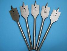 Machine Flat Wood Drill Bit 26mm x 5 - Flat Head Bit Cutter 26mm