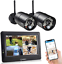 thumbnail 1 - SEQURO GuardPro Wireless Security Camera System with 7 Inch Monitor Outdoor HD