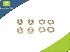 4 Brass Nut/ Washers Kit for Manifold Mounting Ford  2N 8N 9N Tractor ENJ80-0004